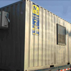 Container outside