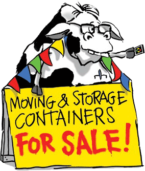 Cow with For Sale sign